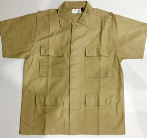 Brown Shirt with multiple pockets